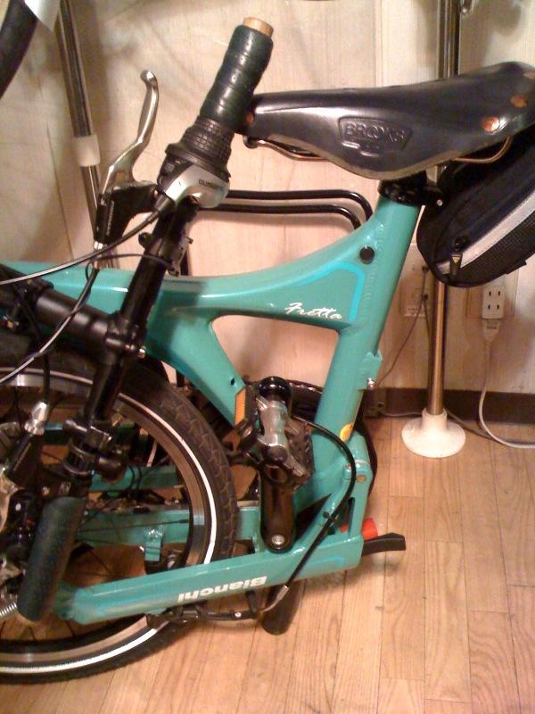 自転車コンピュータの修理